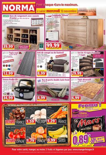 Norma catalogue publicitaire (valable jusqu'au 19-11)