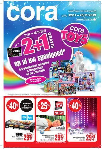 Cora reclame folder (geldig t/m 25-11)