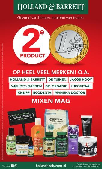 Holland & Barrett reclame folder (geldig t/m 01-12)