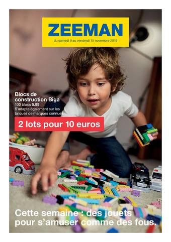 Zeeman catalogue publicitaire (valable jusqu'au 15-11)
