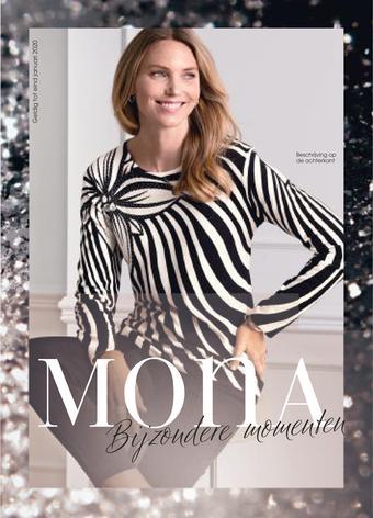 Mona Mode reclame folder (geldig t/m 31-12)