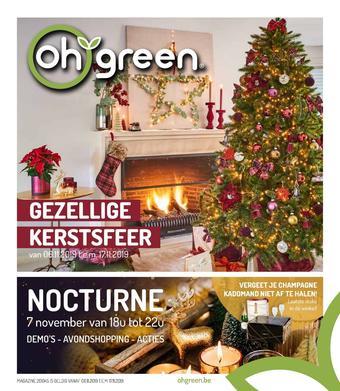 Oh Green reclame folder (geldig t/m 24-11)