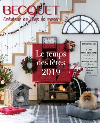 Becquet catalogue publicitaire (valable jusqu'au 31-12)