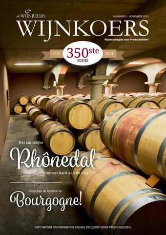 De Wijnbeurs reclame folder (geldig t/m 30-11)