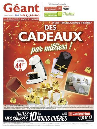 Géant Casino catalogue publicitaire (valable jusqu'au 15-12)