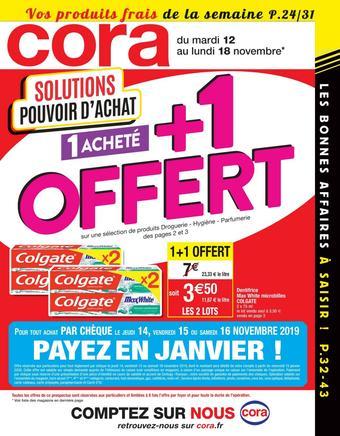 Cora catalogue publicitaire (valable jusqu'au 18-11)