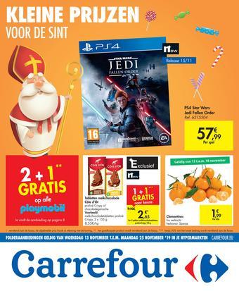 Carrefour reclame folder (geldig t/m 25-11)