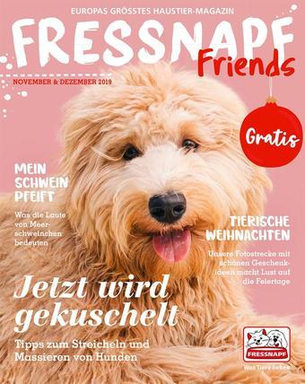 Fressnapf Werbeflugblatt (bis einschl. 31-12)