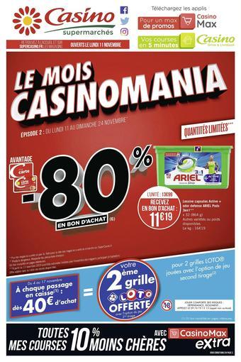 Casino Supermarchés catalogue publicitaire (valable jusqu'au 24-11)
