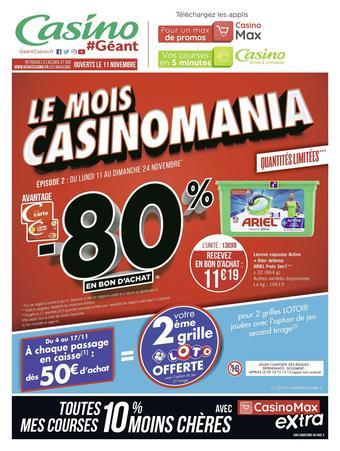 Géant Casino catalogue publicitaire (valable jusqu'au 24-12)