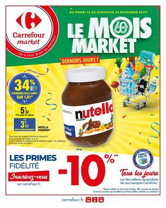 Carrefour Market catalogue publicitaire (valable jusqu'au 24-11)