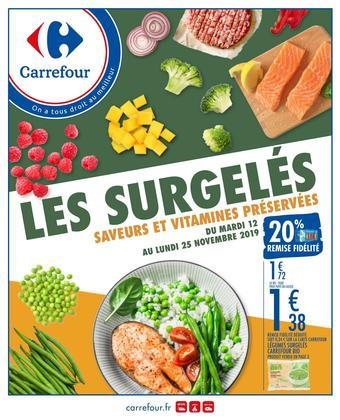 Carrefour catalogue publicitaire (valable jusqu'au 25-11)