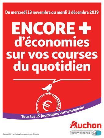 Auchan catalogue publicitaire (valable jusqu'au 03-12)