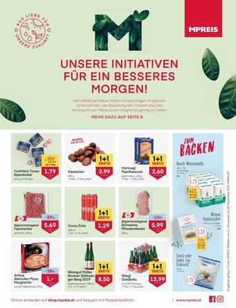 MPreis Werbeflugblatt (bis einschl. 24-11)