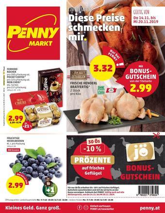 PENNY Werbeflugblatt (bis einschl. 20-11)