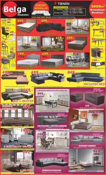 Belga Meubelen reclame folder (geldig t/m 24-11)
