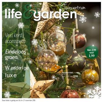 Life & Garden reclame folder (geldig t/m 27-11)