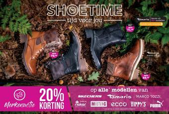 Shoetime reclame folder (geldig t/m 15-12)