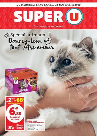 Super U catalogue publicitaire (valable jusqu'au 23-11)