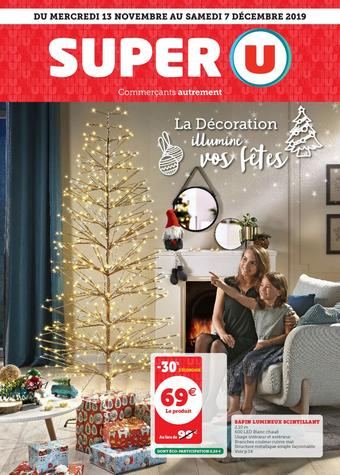 Super U catalogue publicitaire (valable jusqu'au 07-12)