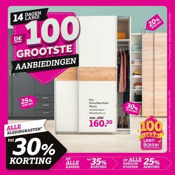 Leen Bakker reclame folder (geldig t/m 01-12)
