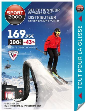 Sport 2000 catalogue publicitaire (valable jusqu'au 01-12)