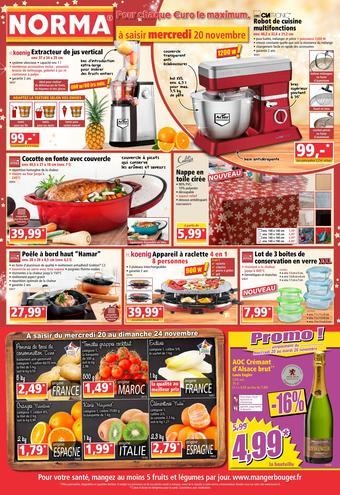Norma catalogue publicitaire (valable jusqu'au 26-11)