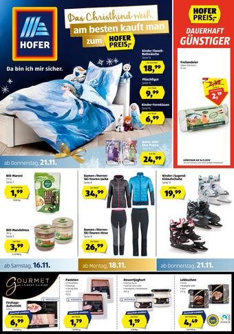 Hofer Werbeflugblatt (bis einschl. 24-11)