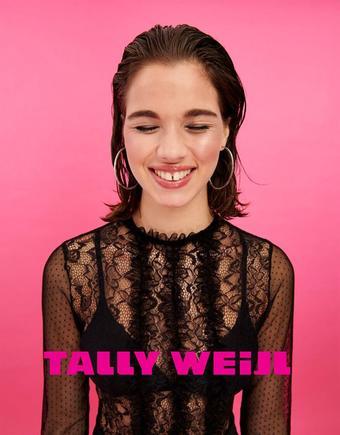 Tally Weijl reclame folder (geldig t/m 13-01)
