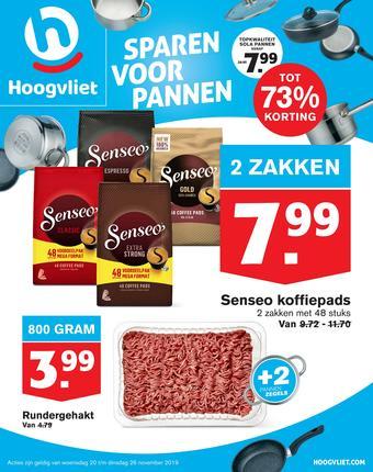 Hoogvliet reclame folder (geldig t/m 26-11)