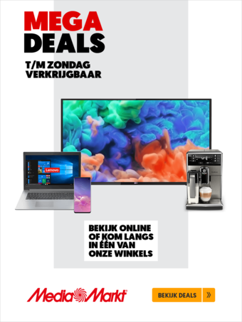 MediaMarkt reclame folder (geldig t/m 21-11)