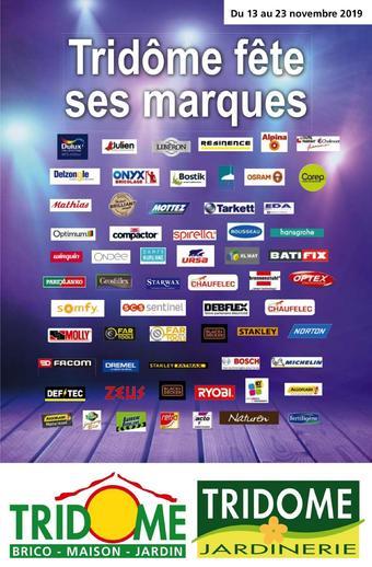 Tridôme catalogue publicitaire (valable jusqu'au 23-11)