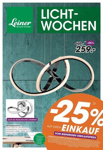 Leiner Werbeflugblatt (bis einschl. 25-11)