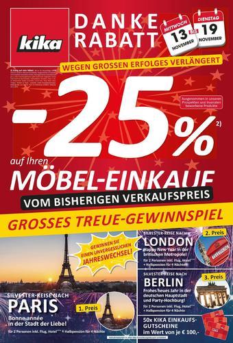 kika Werbeflugblatt (bis einschl. 19-11)