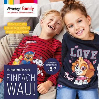 Ernstings family Prospekt (bis einschl. 23-11)