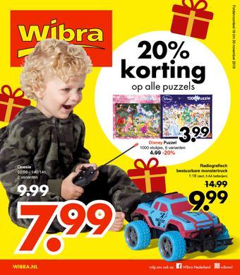 Wibra reclame folder (geldig t/m 30-11)