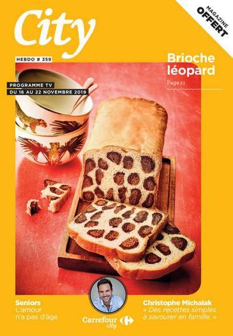 Carrefour City catalogue publicitaire (valable jusqu'au 22-11)