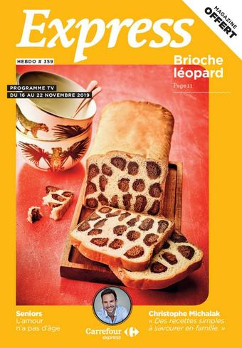 Carrefour Express catalogue publicitaire (valable jusqu'au 22-11)