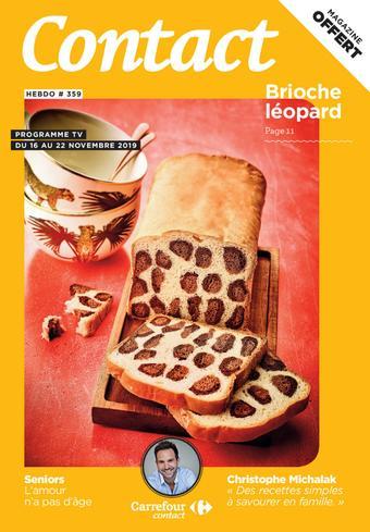 Carrefour Contact catalogue publicitaire (valable jusqu'au 22-11)