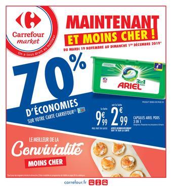 Carrefour Market catalogue publicitaire (valable jusqu'au 01-12)
