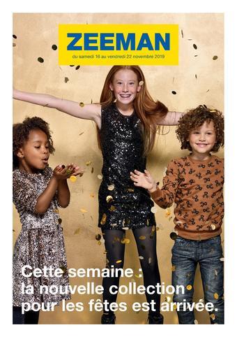 Zeeman catalogue publicitaire (valable jusqu'au 22-11)