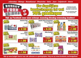 Budget Food reclame folder (geldig t/m 21-11)