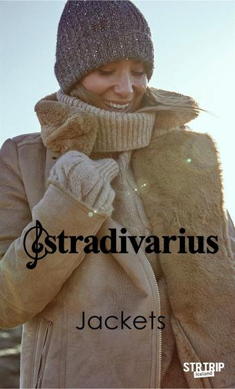 Stradivarius reclame folder (geldig t/m 05-01)