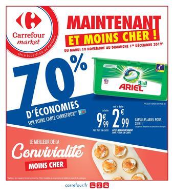 Carrefour catalogue publicitaire (valable jusqu'au 01-12)