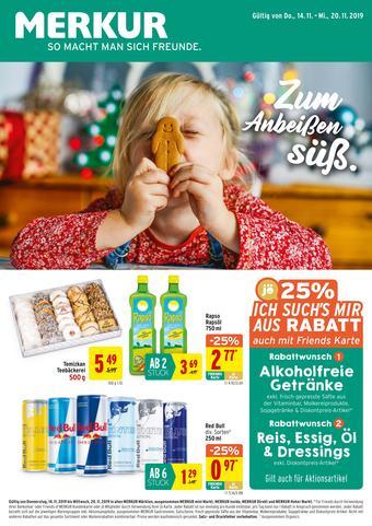 MERKUR Markt Werbeflugblatt (bis einschl. 20-11)