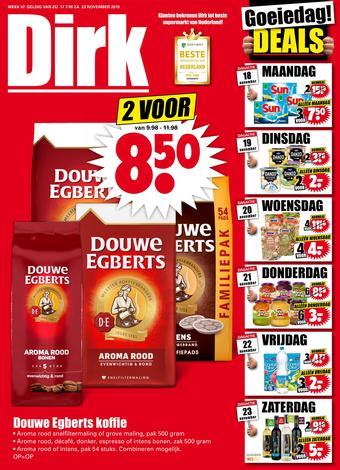Dirk reclame folder (geldig t/m 23-11)