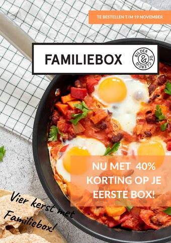 De Familiebox reclame folder (geldig t/m 23-11)