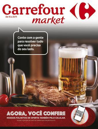 Carrefour Market catálogo promocional (válido de 10 até 17 21-11)
