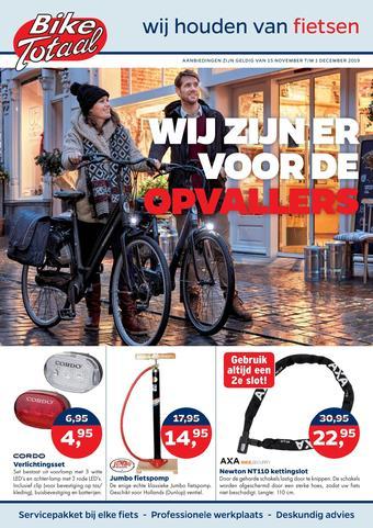 Bike Totaal reclame folder (geldig t/m 01-12)