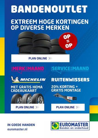 Euromaster reclame folder (geldig t/m 30-11)